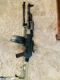 For Sale: Tactical wasr10 Romanian AK 47 with Pelican case