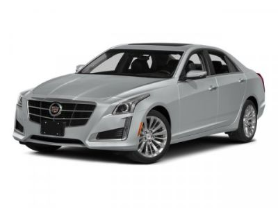 2014 Cadillac CTS 2.0T Luxury Collection (Silver Coast Metallic)