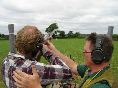 Training on Clay Pigeon Shooting Instruction