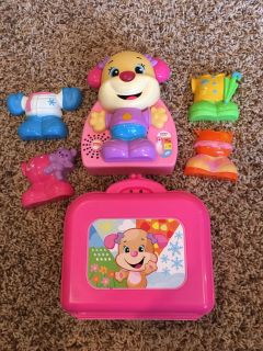 Fisher Price dress up puppy