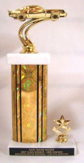 Sell Car & Bike Show Trophy - 12 inch tall trophy - Free Engraving motorcycle in Fullerton, California, US, for US $10.75