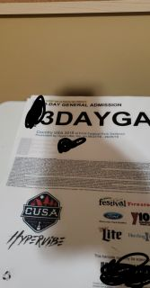Cusa 3 day pass