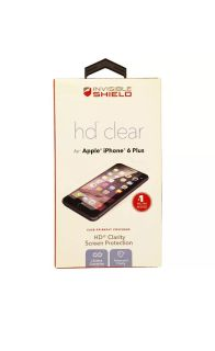 ZAGG Invisible Shield HD Clear Screen Protector for iPhone 6s Plus/6 Plus