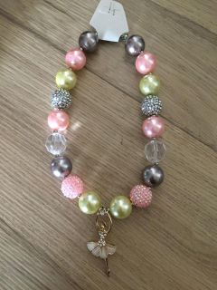 New in box kids Chunky bubblegum necklace