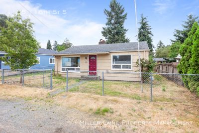 Updated 2 Bedroom in PLU district of Tacoma