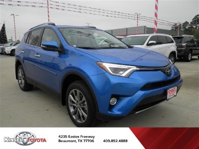 2018 Toyota RAV4 Limited (blue)