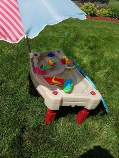 Kids sand/water table