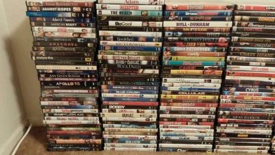 TONS of DVDs