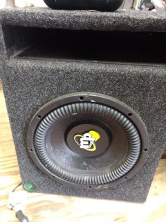 Mp AUDIO 10 inch woofer and vented box