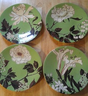 Floral Themed Matching Dishes