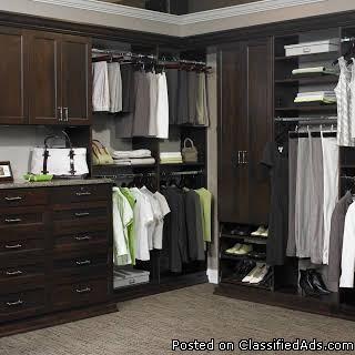 custom closet designs gets you organized Clearwater Beach, FL.