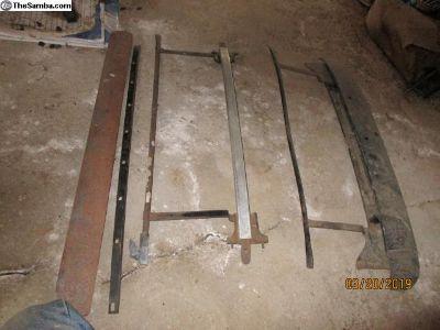 2 fold sliding roof mechinism