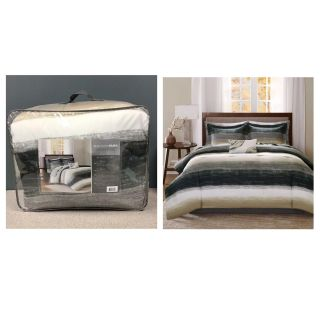 Home Essence Seth Bed in a Bag Comforter and Cotton Sheet Set