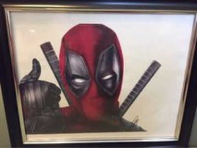 FRAMED ORIGINAL ARTWORK VARIOUS FANDOMS