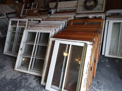 Vintage Farmhouse Windows