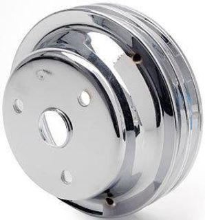 Purchase Spectre 4438 SB-Chevy Chrome Crankshaft Pulley motorcycle in Delaware, Ohio, US, for US $47.99