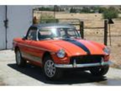 1980 MG MGB Convertible Manual with overdrive