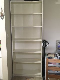 IKEA Billy Bookcase - white (2 available)