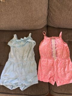 2T summer Rompers