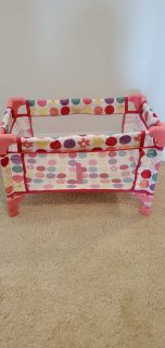 Doll baby bed