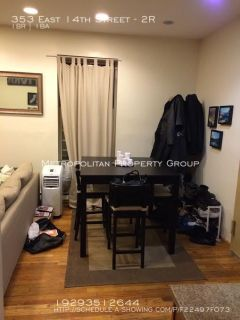 East Village - One Bedroom With Exposed Brick & Spacious Layout