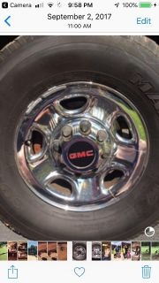 WANTED- 8 lug Chevy / gmc factory wheel