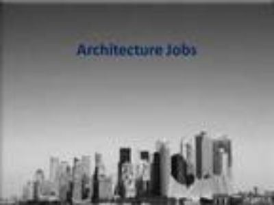 Architectural Jobs at Creatie Jobs Central