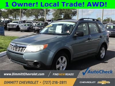 2012 Subaru Forester 2.5X (Sage Green Metallic)