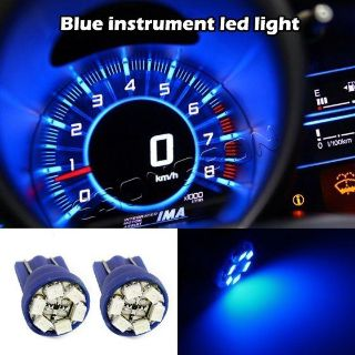 Purchase 2x Bright Blue Instrument Speedometer Gauge Cluster 12V T10 LED Dash Light Bulb motorcycle in Cupertino, CA, US, for US $4.99
