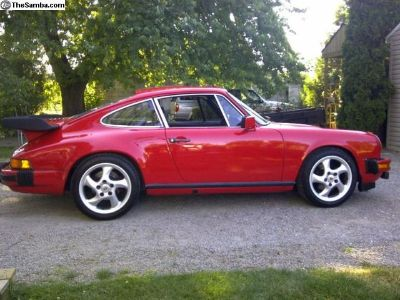 Porsche 911 944 17in turbo twist wheels and tires