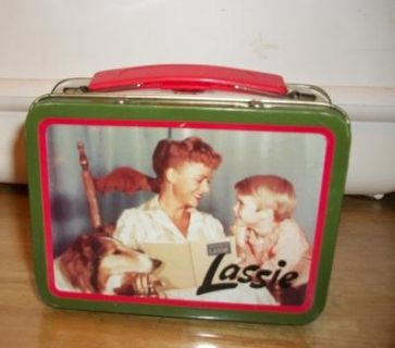 #501 VINTAGE LASSIE MINI LUNCHBOX