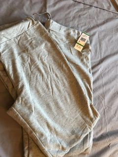 New- 2 pairs Anne Klein Gray sweatpants large
