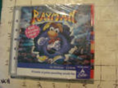 vintage Video Game for windows: SEALED--cd rom--RAYMAN 70