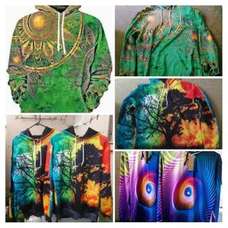 3D HOODIES MED LARGE SIZES
