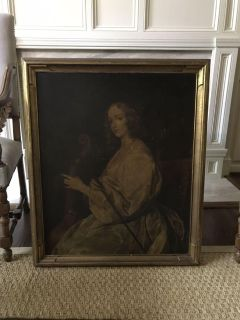 Beautiful vintage lithograph 27.75 x 30