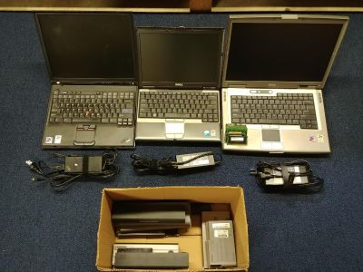 Laptops, batteries, and RAM
