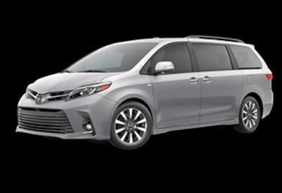 2019 Toyota Sienna Limited Premium (Celestial Silver Metallic)