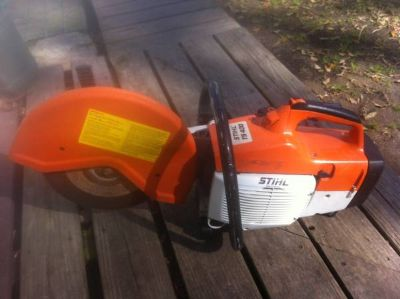 Used Stihl TS 400  Concrete cut-off saw