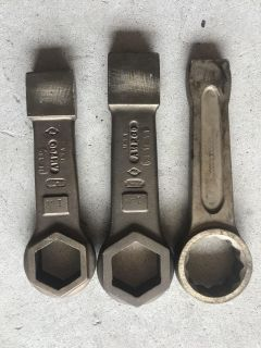 Brass striking wrenches