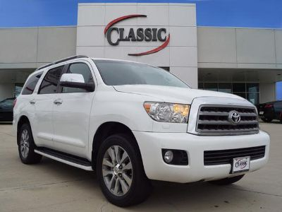 2015 Toyota Sequoia Limited (White)