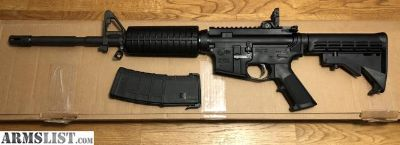 For Sale: COLT LE6920 AR15 M4 CARBINE 5.56/.223 RIFLE WITH ORIGINAL BOX, LOCK, & MAGPUL GEN M3 30-ROUND PMAG