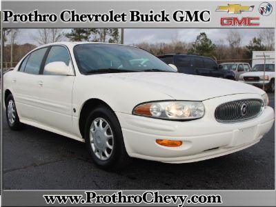 2004 Buick LeSabre Custom (white)