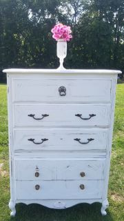 FARMSTYLE COUNTRY WHITE DRESSER / CHEST OF DRAWERS