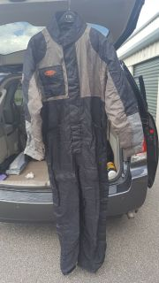 Cold weather riding suit men's lg