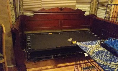Sleigh Day Bed w Trundle