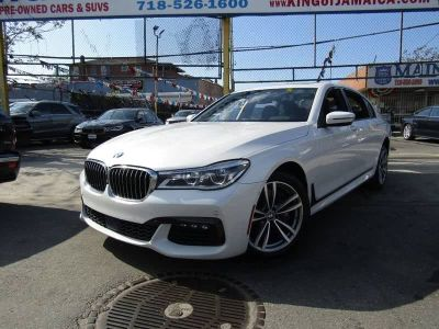 2016 BMW 7-Series 4dr Sdn 750i xDrive AWD (Alpine White)