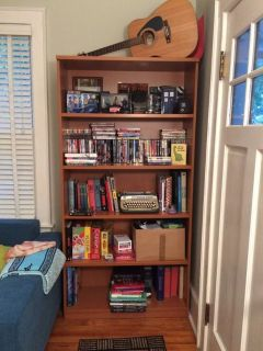 Tall sturdy bookcase