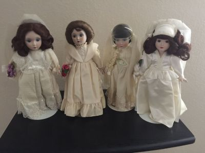 Danberry Mint Bride Dolls