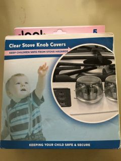 Clear Stove Knob Covers PPU Columbia