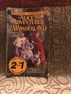 Book Alice in Wonderland Swap Only Swap Only
